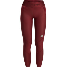 Skins Series-3 Long Tights Women, burgundy